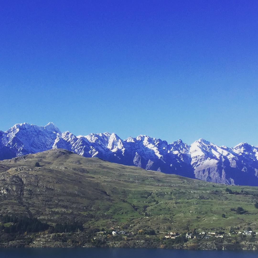 More snow dropping on The Remarkables every day. #Queenstown #WinterIsComing