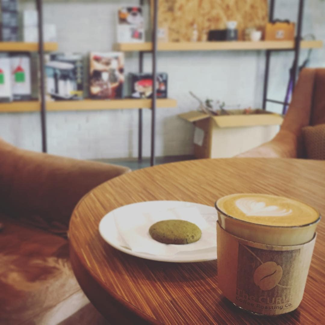 Coffee at The Curve, Taichung