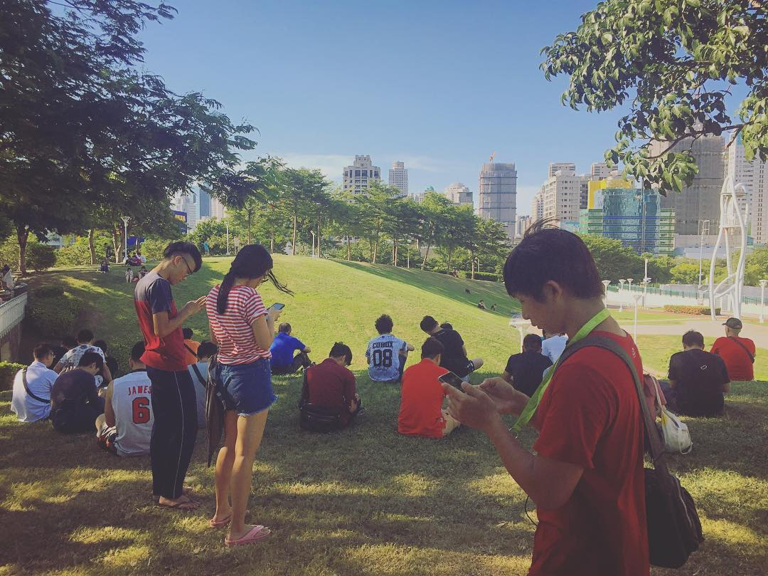 "PokeParty in Taichung aka ""The Power of Pokémon Lures"""