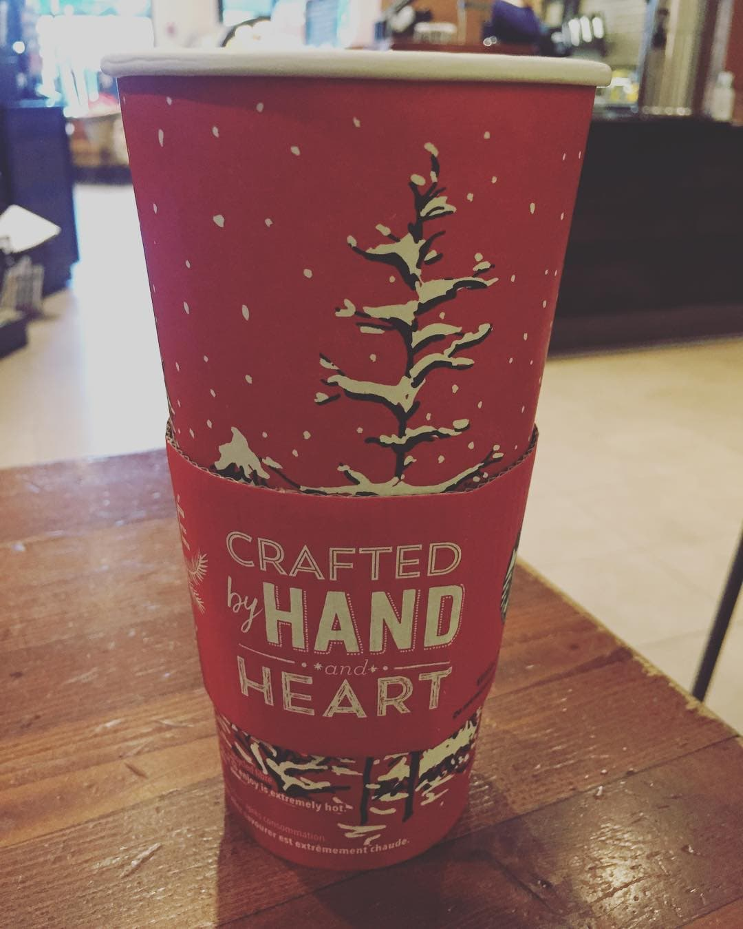 Christmas has arrived at #Starbucks