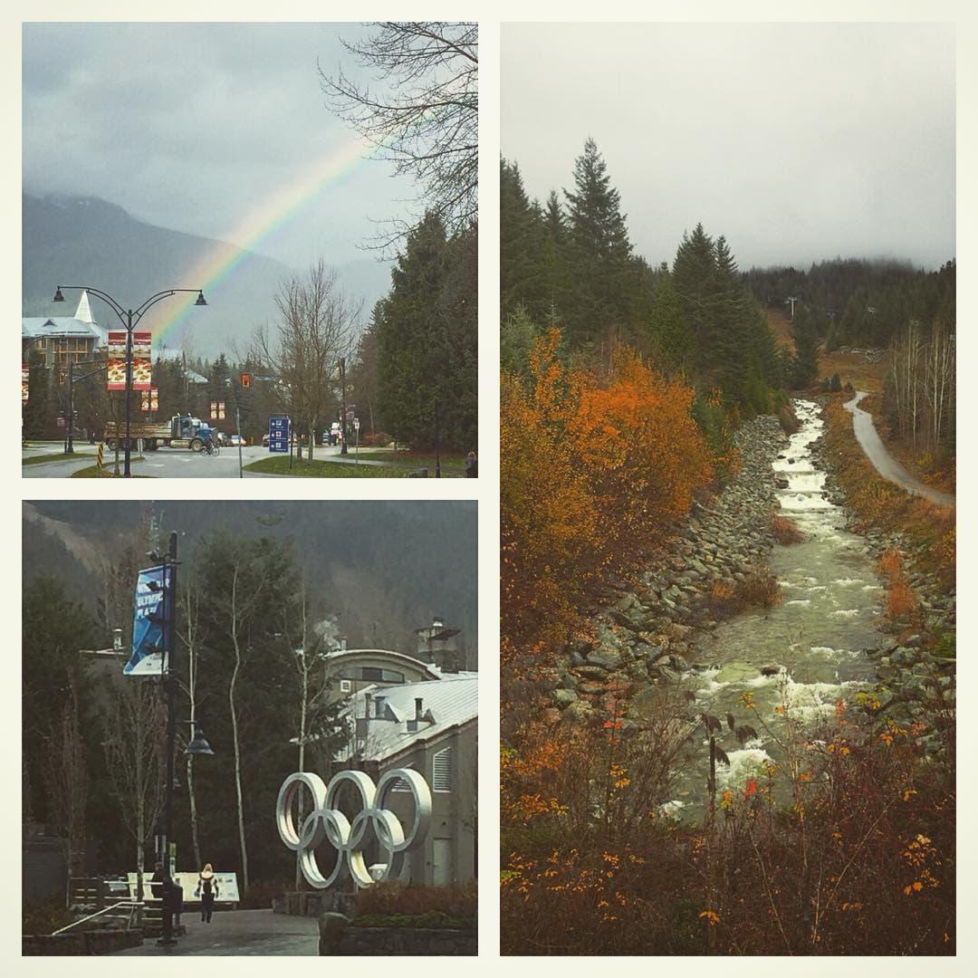 Wet Whistler Autumn