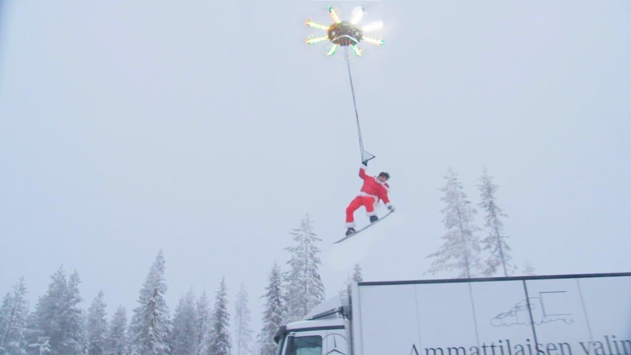 Snodroboarding – Human Flying Drone [Video]